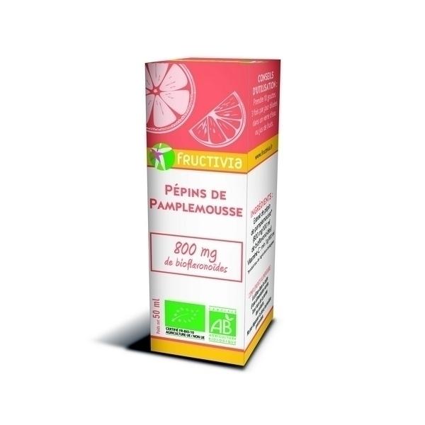 Fructivia - Extraits de Pépins de Pamplemousse bio 50ml