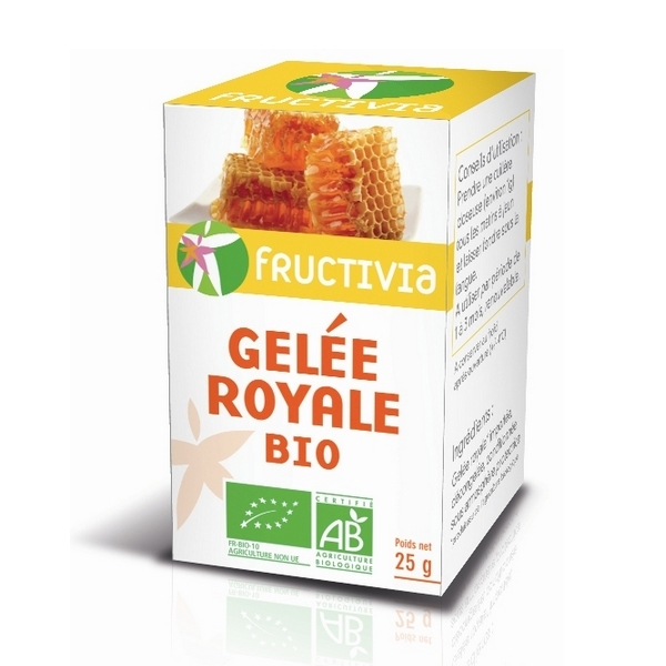 Fructivia - Gelée royale bio 25g