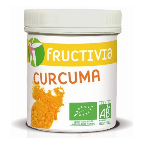 poudre de curcuma bio 500g fructivia acheter sur. Black Bedroom Furniture Sets. Home Design Ideas