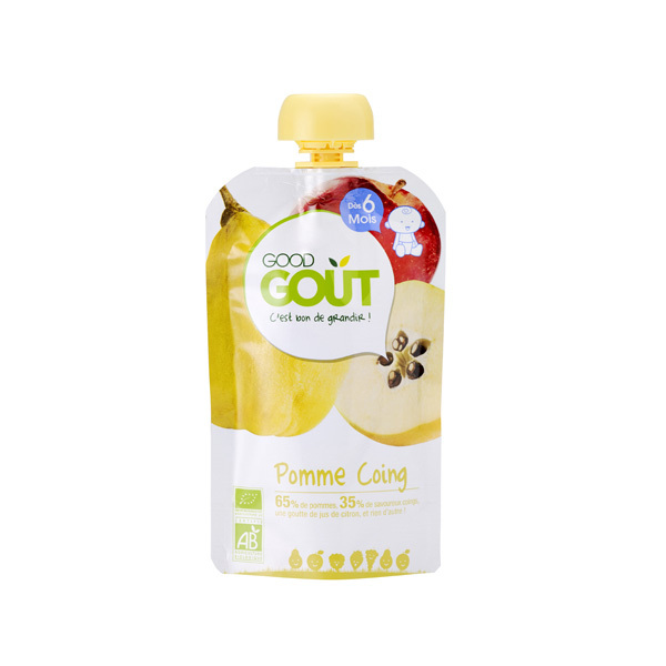 Good Gout - Gourde Pomme Coing 120g