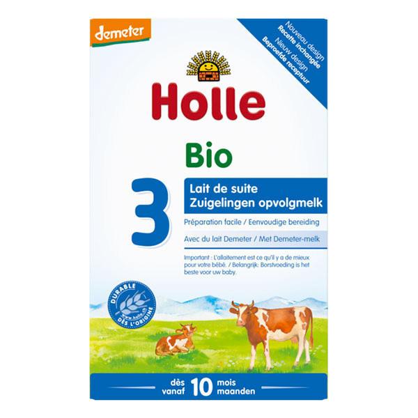 HiPP 12 Lait Enfant /à partir de 12 Lot de 4 paquets de 4 x 800 g Bio