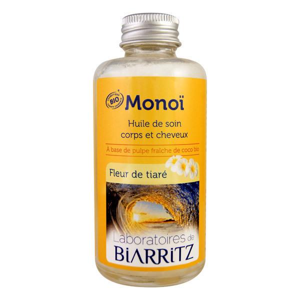 Monoi Huile Soin Fleurs De Tiare 100ml Laboratoires De Biarritz