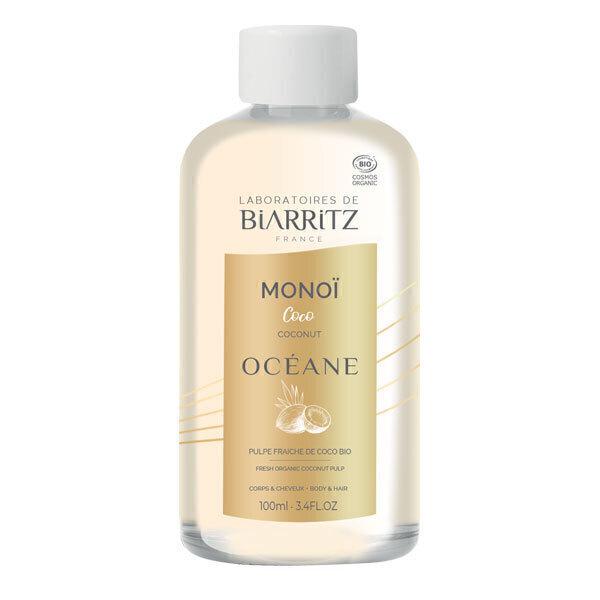 Laboratoires de Biarritz - Huile soin corps et cheveux Monoï et Noix de coco 100ml