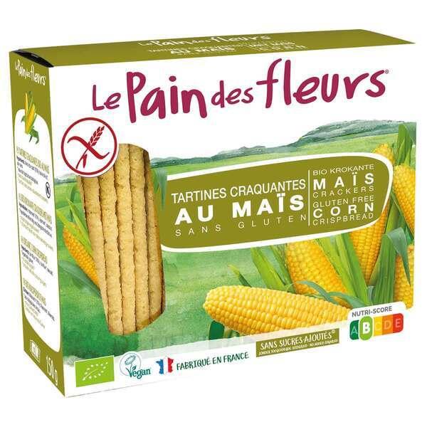 Le pain des fleurs - Tartines craquantes Maïs Riz 150g
