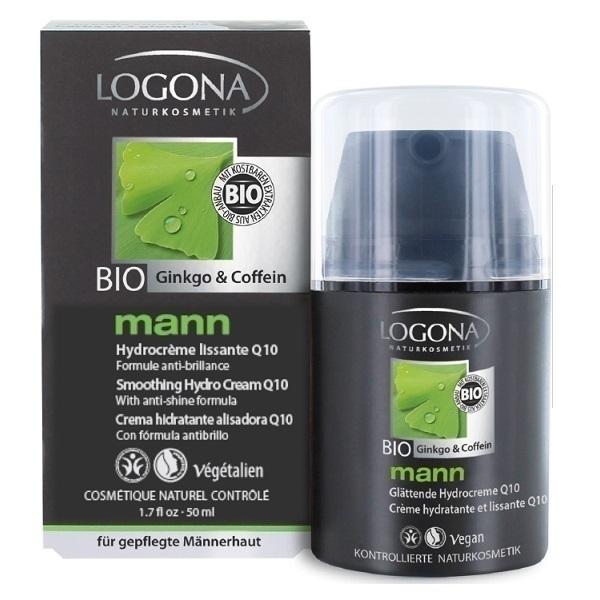 Logona - Crème hydratante et lissante Q10 mann 50ml