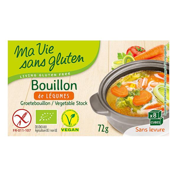 Bouillons Aux Legumes 72gr Ma Vie Sans Gluten