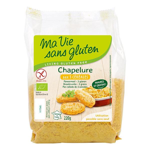 Ma Vie Sans Gluten - Chapelure 3 céréales 220gr