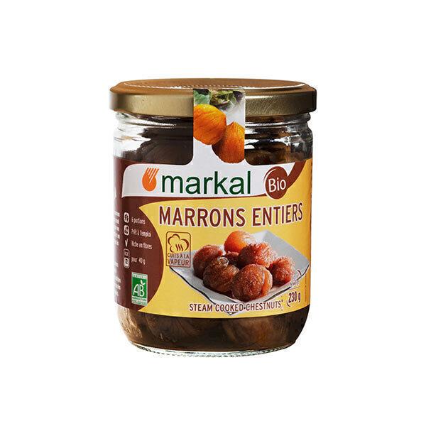 Markal - Marrons entiers naturels 230g