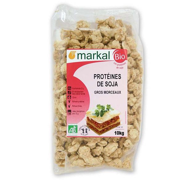 Protéines de Soja Gros 10kg Markal   Acheter sur Greenweez.com