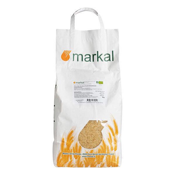 Markal - Riz long blanc étuvé 5kg