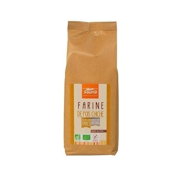 Mon Fournil - Farine de Pois Chiche bio sans gluten 500g
