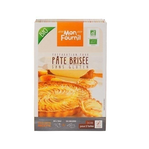 Mon Fournil - Préparation Pâte Brisée bio sans gluten 2 x 200 g
