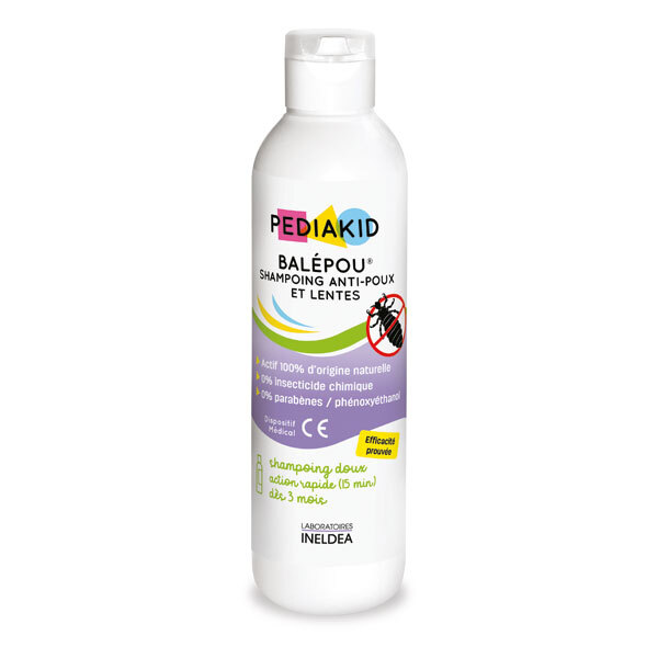 Pediakid - Shampoing anti-poux et lentes Balépou 200ml