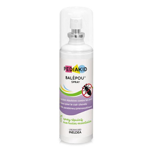 Pediakid - Balépou Spray anti-poux - Effet bouclier 100ml