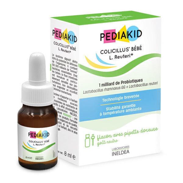 Pediakid - Colicillus bébé - Flacon de 10 ml compte-gouttes