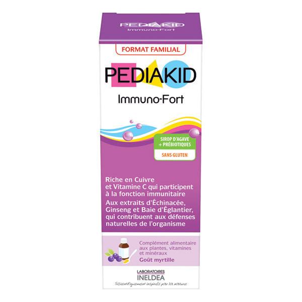 Pediakid - Pediakid® Immuno-Fort – Sirop Goût Myrtille 250ml
