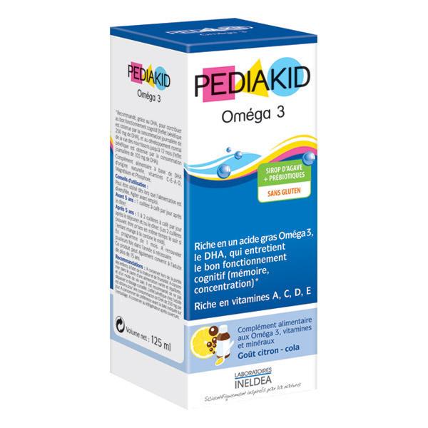 Pediakid - Pediakid® Oméga 3 - Bouteille de 125mL