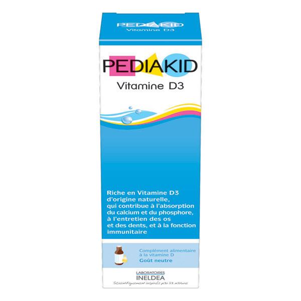 Pediakid - Vitamine D3 - Flacon de 20 ml compte-gouttes