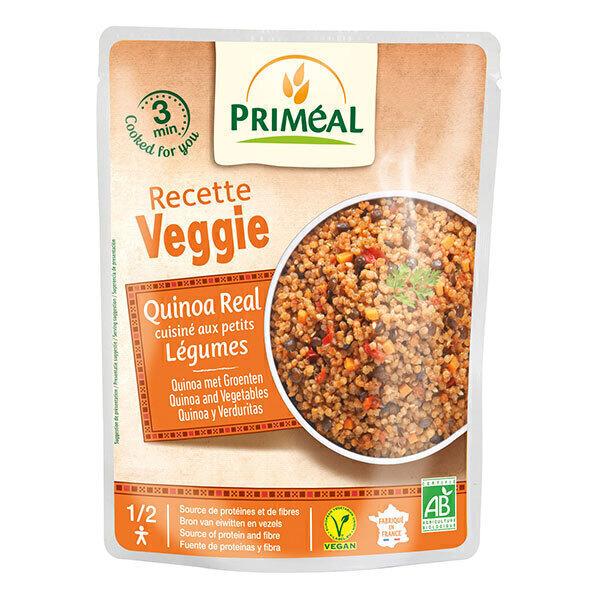 Priméal - Quinoa real cuisiné aux petits légumes 220g