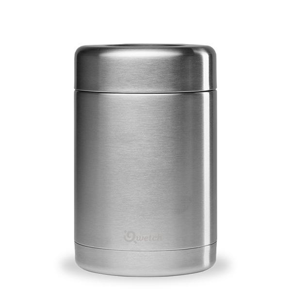 Qwetch - Boîte repas isotherme Originals Inox 65cl