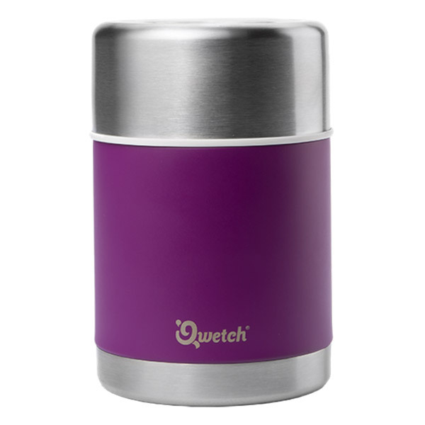 Qwetch - Lunch box isotherme - pourpre 500ml