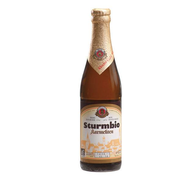Sturm - Bière bio klostergold 5.2% vol. 33cl
