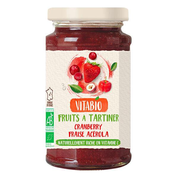 Vitabio - Tartinable Antioxydant Fraise Cranberry Acérola 290g