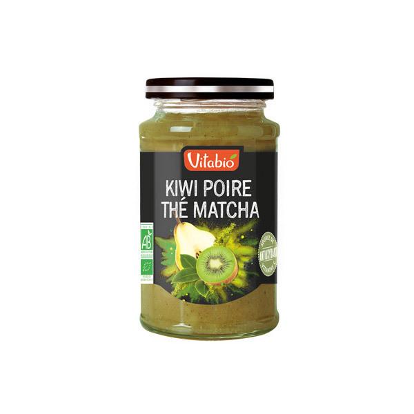 Vitabio - Tartinable Antioxydant Poire Kiwi Thé Matcha 290g