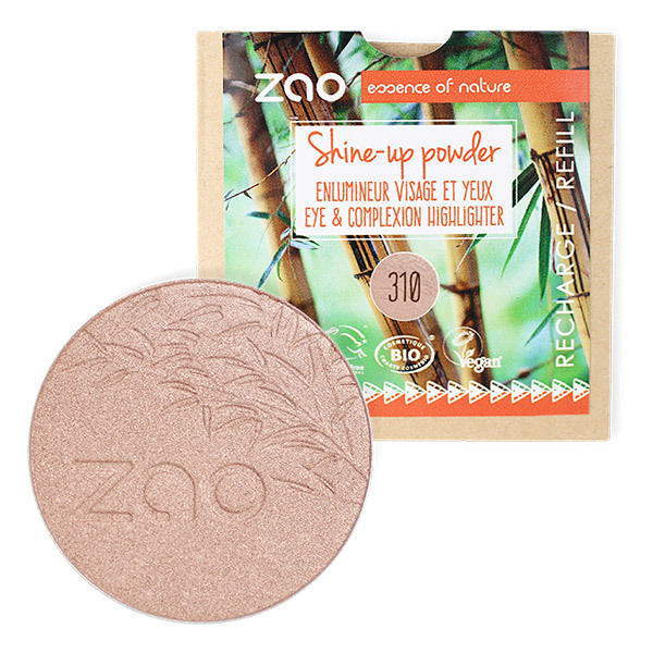 Zao MakeUp - Recharge Enlumineur de Teint Shine-Up Powder