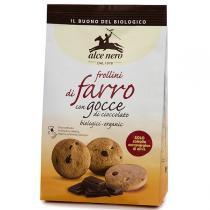 Alce Nero - Biscuits Frollini Farine d'épeautre Pépites Chocolat 300g