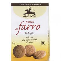 Alce Nero - Biscuits Frollini Farro Farine Epeautre 300g