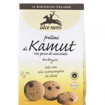 Alce Nero - Biscuits Frollini Kamut Pépites de Chocolat 300g