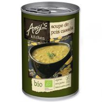 Amy's Kitchen - Soupe de Pois cassés Bio 400g