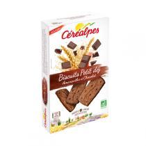 Céréalpes - Biscuits Petits déj Amaranthe Chocolat 200g