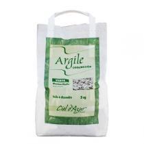 Ciel d'azur - Argile naturelle verte concassée 3kg