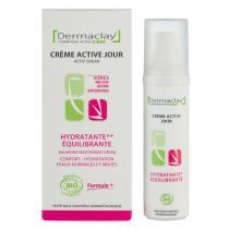 Dermaclay - Crème de jour Hydratante Equilibrante 50ml