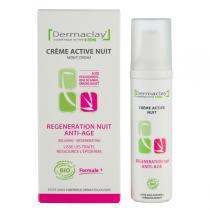 Dermaclay - Crème nuit Régénération Anti-âge 50ml