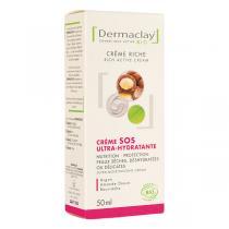 Dermaclay - Crème SOS Ultra hydratante 50ml