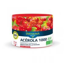 Dietaroma - Acérola 1000 BIO Goût Cerise x 60 comprimés