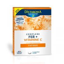 Dietaroma - Complexe Fer + Vitamine C 30 comp.