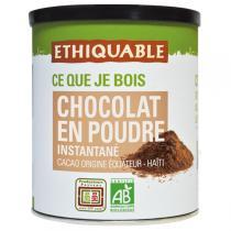 Ethiquable - Cacao en poudre instantané BIO 400g