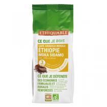 Ethiquable - Café moulu moka Ethiopie  250g
