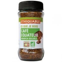 Ethiquable - Café soluble Equateur BIO 85g