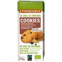 Ethiquable - Cookies pépites chocolat noix cajou BIO 175g