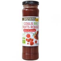 Ethiquable - Coulis de fruits rouges BIO 156ml