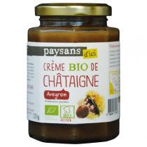 Ethiquable - Crème de châtaignes Aveyron BIO 320g