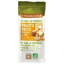 Ethiquable - Fruits secs grillés à sec BIO 120g