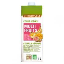 Ethiquable - Jus multifruits Pérou/Equateur/Brésil BIO 1L