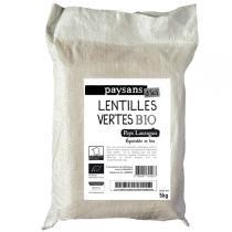 Ethiquable - Lentilles vertes BIO 5kg