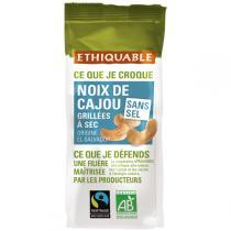 Ethiquable - Noix de Cajou grillées à sec sans sel BIO 100g